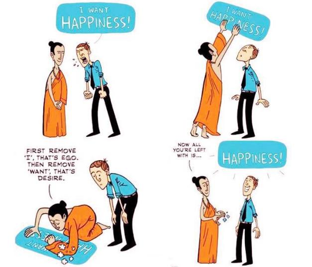 Happiness is all you need
