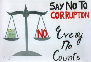 eradicate corruption